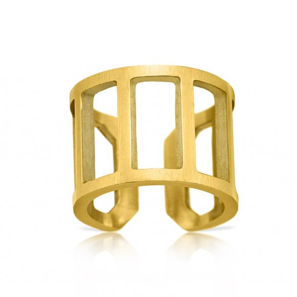 Philosophy Wide Ladder Ring