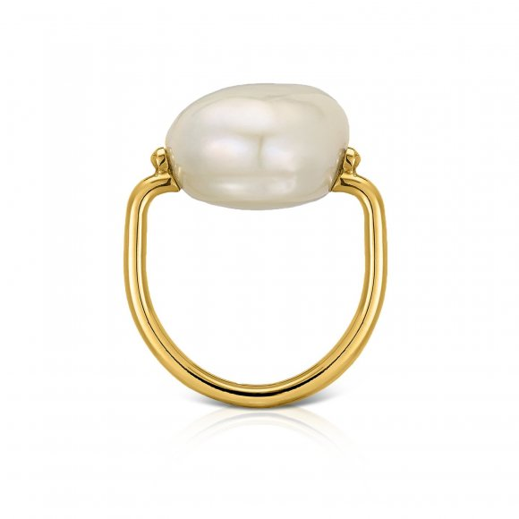 Pebbles Pearl Ring