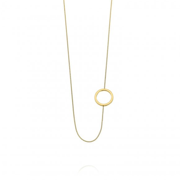 Links short necklace - Round shape