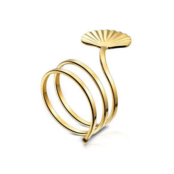 Spiral Shell ring