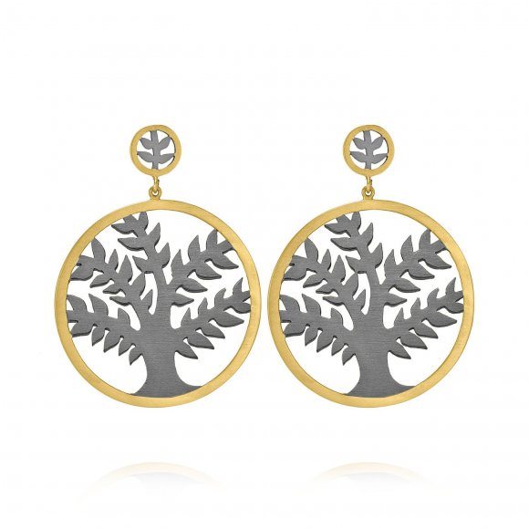 Olive Tree Classic Earrings