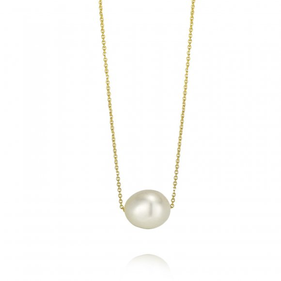 Small size short Pearl Necklace