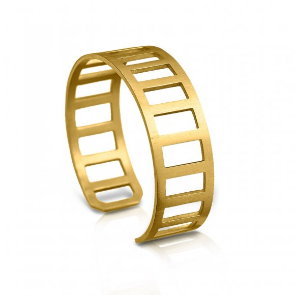 Philosophy Wide Ladder Cuff